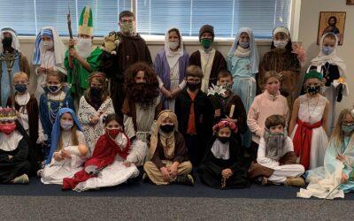 Third Grade Saint Presentations