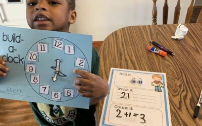"K4 students learn the letter ""T"""